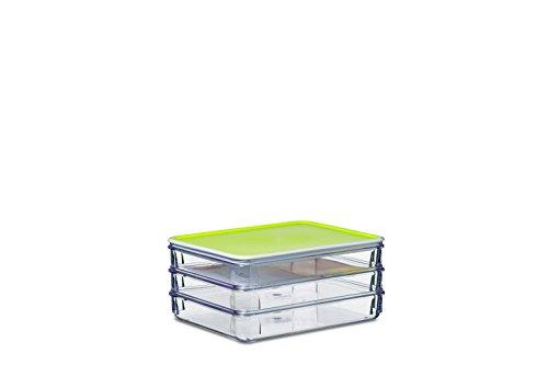 rosti mepal modul 163 3 box k hlschrank zu aufschnitt san 19 x 15 5 x 8 8 cm zitronengelb 19 x. Black Bedroom Furniture Sets. Home Design Ideas