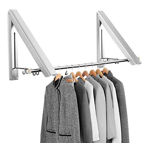 mture klappbar wand kleiderst nder kleiderhaken garderobenhaken kleiderl fter wandgarderobe. Black Bedroom Furniture Sets. Home Design Ideas