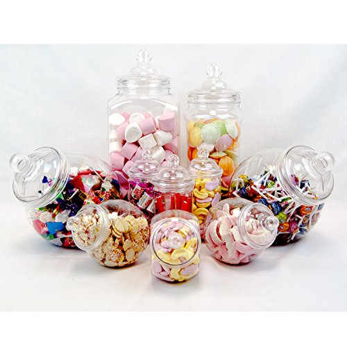 10 jar vintage viktorianischer pick mix sweet shop candy buffet set party pack aimnexa. Black Bedroom Furniture Sets. Home Design Ideas