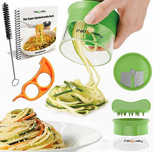 premium spiralschneider hand f r gem sespaghetti kartoffel fabquality zucchini spargelsch ler. Black Bedroom Furniture Sets. Home Design Ideas