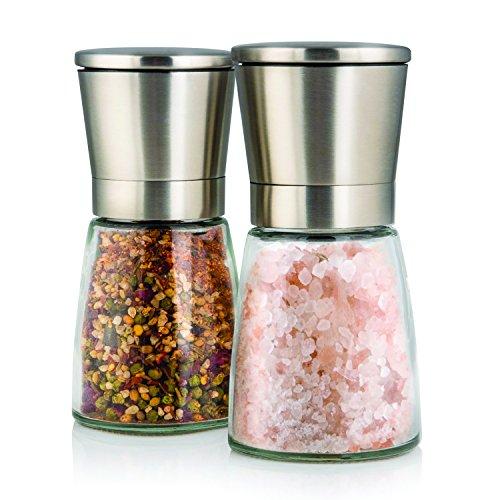 Salzmühle – Elegante Salz und Pfeffermühle mit Ständer ...