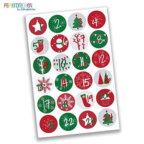 Weihnachtsdeko holzklammern f r fotos absofine 50er mini klammern mit s en weihnachten figuren - Wascheklammern dekorieren ...