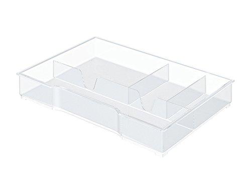 uncluttered designs verstellbare schubf cher trennf cher f r aufbewahrung ordnung in. Black Bedroom Furniture Sets. Home Design Ideas