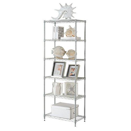 langria regal 6 ablage standregal moderne. Black Bedroom Furniture Sets. Home Design Ideas