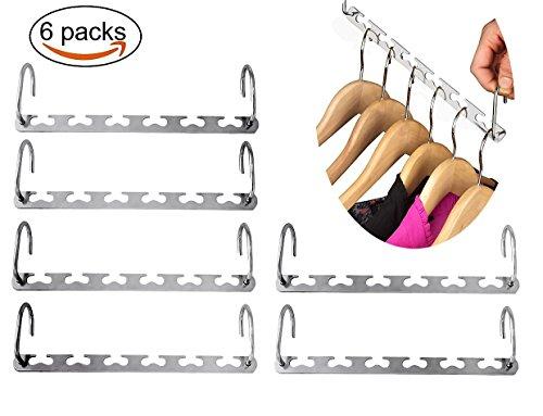 ordnung und platz im kleiderschrank aufh nger set aus 30 st ck kleiderb gel kleiderhaken. Black Bedroom Furniture Sets. Home Design Ideas
