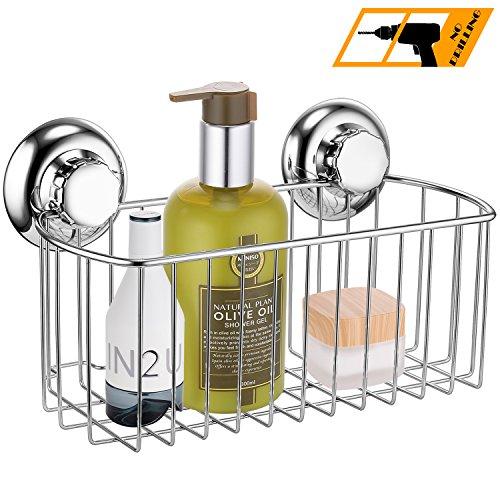 maxhold saugschraube duschkorb tief einst ckig befestigen ohne bohren edelstahl rostet nicht. Black Bedroom Furniture Sets. Home Design Ideas