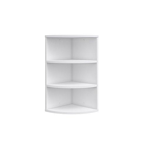 vicco eckregal ecki 0 5 wei h ngeregal wandregal b cherregal regal design aimnexa. Black Bedroom Furniture Sets. Home Design Ideas