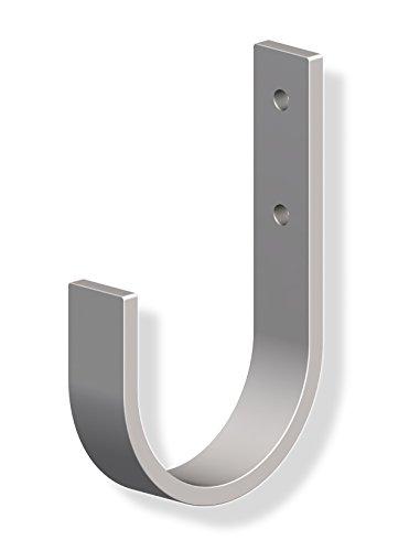 10 st ck gedotec wandhaken zum schrauben unihaken allzweckhaken 70 x 110 mm metallhaken. Black Bedroom Furniture Sets. Home Design Ideas