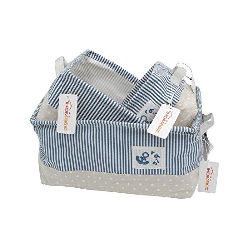mdesign 4er set aufbewahrungsboxen stoff schubladenboxen mit insgesamt 13 f chern. Black Bedroom Furniture Sets. Home Design Ideas