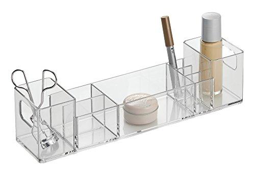 interdesign 01547eu med plus organizer mit 7 f chern 17 75 cm durchsichtig aimnexa. Black Bedroom Furniture Sets. Home Design Ideas