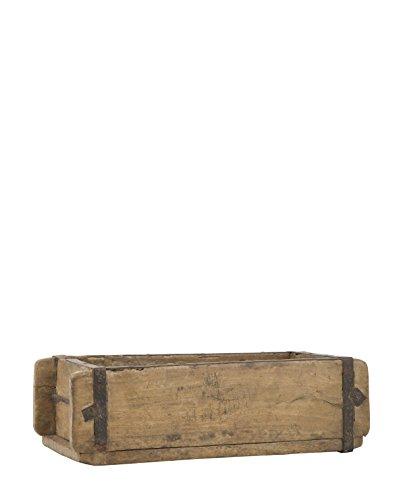 chiccie 3 set holzkiste im vintage look kiste 38x28cm geflammt dunkel obstkiste dekokiste. Black Bedroom Furniture Sets. Home Design Ideas