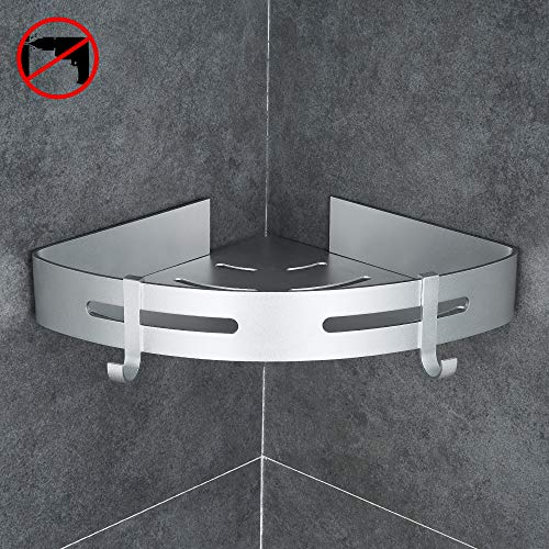 gricol eckablage duschkorb duschablagen ohne bohren f r. Black Bedroom Furniture Sets. Home Design Ideas