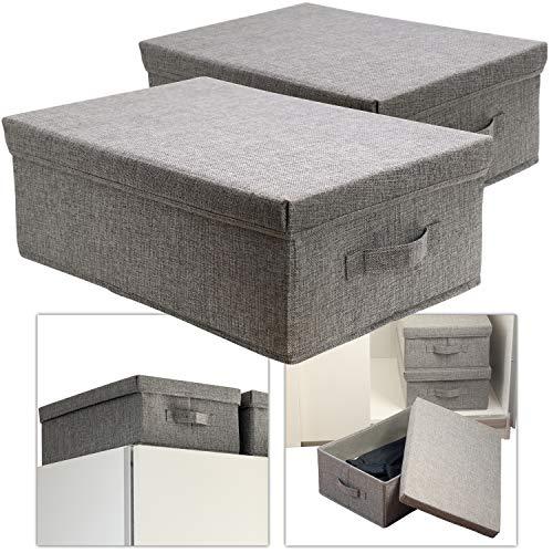 hausfelder ordnungsliebe aufbewahrungsbox gro mit deckel. Black Bedroom Furniture Sets. Home Design Ideas